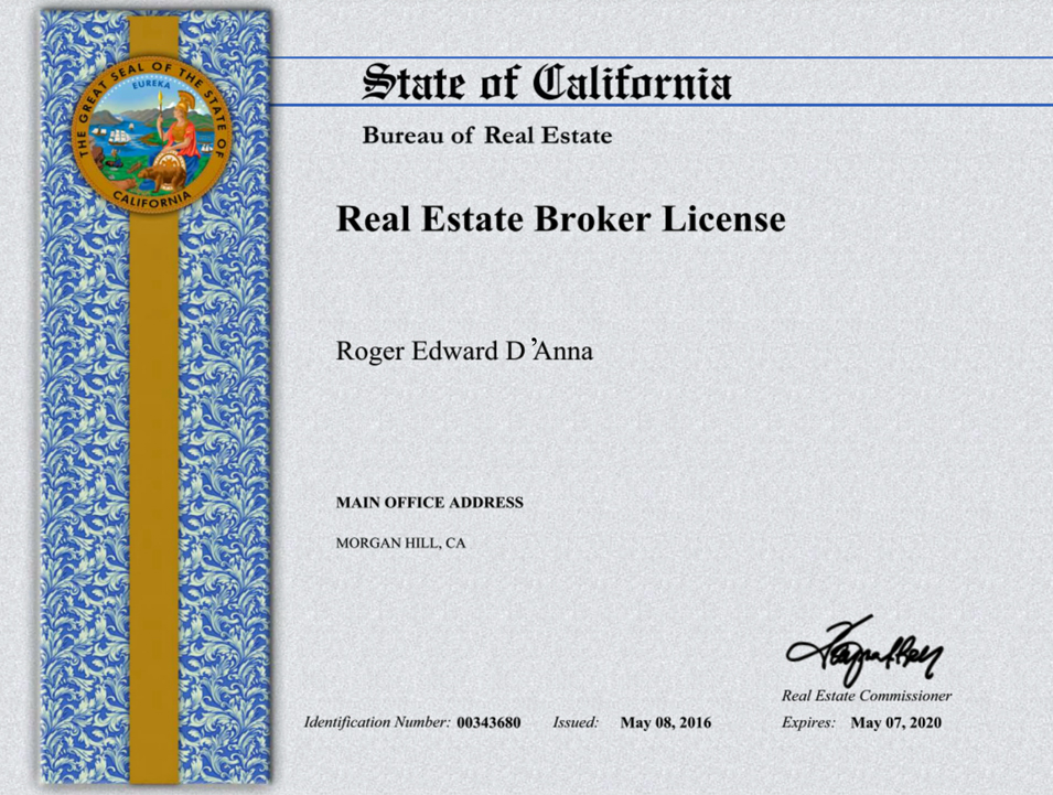 Broker License NO AD